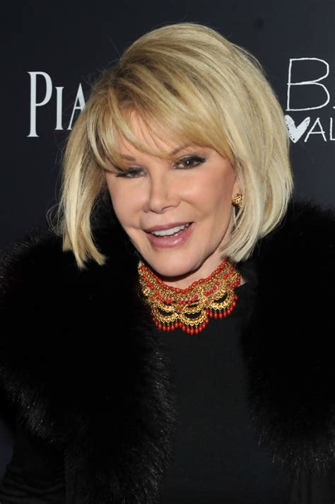 Joan Rivers Hairstyles by Joan Rivers Bob Hairstyle With Bangs Hairstyles Weekly