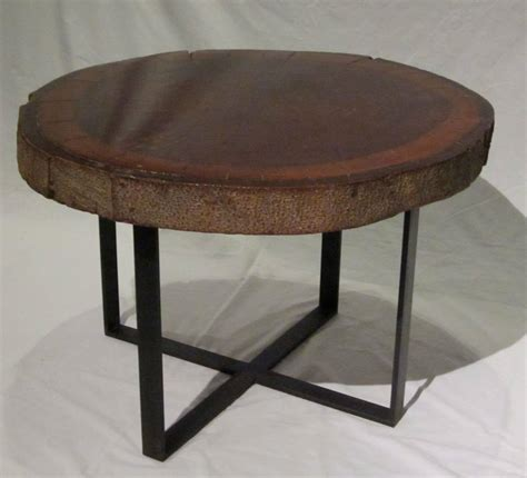 1940s Wood Slice Coffee Table At 1stdibs Wood Slice Coffee Table