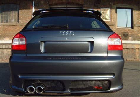 Audi S3 8l Spoiler by Pakfeifer Rear Bumper Spoiler For Audi A3 8l Spoiler