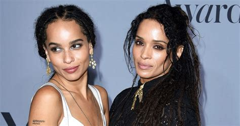 zoe kravitz mother and father 15 mothers and daughters who look like they re the same