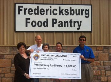 Fredericksburg Food Pantry st s fredericksburg council 9765
