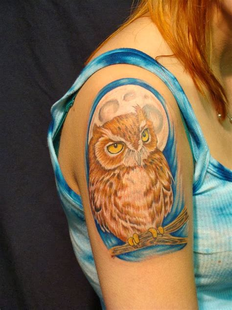 owl tattoos for females owl designs for hair and tattoos