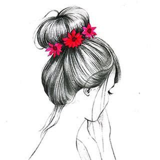 medium length hairstyle sketches hipster drawings tumblr rose google search pinteres