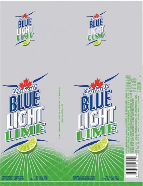 labatt blue light lime journal