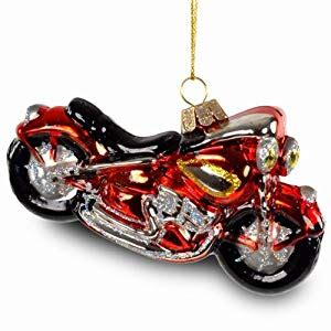 harley davidson motorcycle christmas lights sikora tree decoration glass ornament harley davidson motorcycle 12 cm length