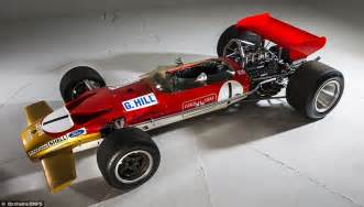 Lotus 49 For Sale Graham Hill S 1968 Lotus On Sale For 163 1m Daily Mail