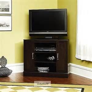 corner tv stands for flat screen tvs corner tv stand flat screen media shelfs cherry furniture