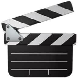 world film board emoji clapper board emoji u 1f3ac