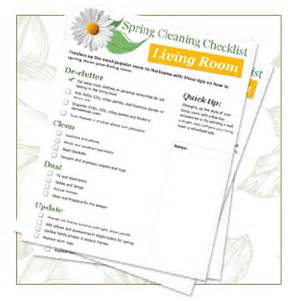 cleaning checklist room by room room by room spring cleaning checklist