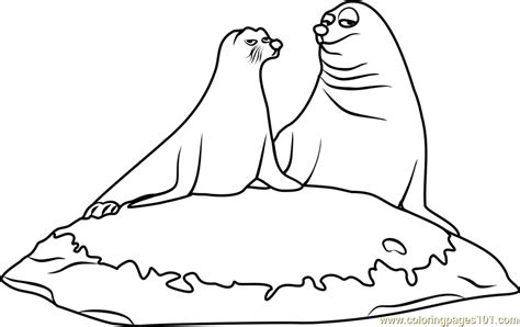 sea lion coloring pages printable rudder and fluke coloring page coloring page sea lion