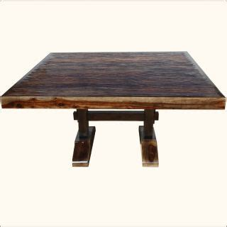 Solid Wood Dining Room Table And Chairs Rustic Solid Wood Large Pedestal Trestle Dining Table