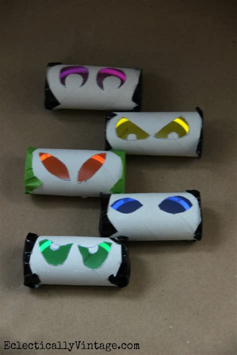 How To Make Sticks With Toilet Paper Rolls - how to make glow stick at eclectically vintage