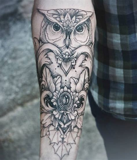 owl tattoo by diana severinenko design of tattoosdesign