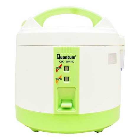 Rice Cooker Quantum 203 hypermart quantum rice cooker qsc 203 mc