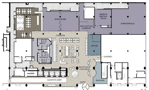 hotel reception layout plan hotel chicago unveils new lobby loop north news