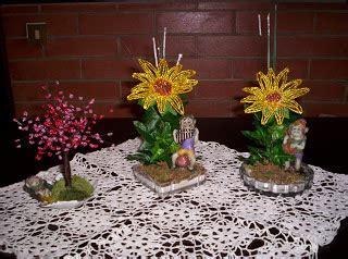fiori fatti con perline il regno delle perline vasetti di fiori realizzati con