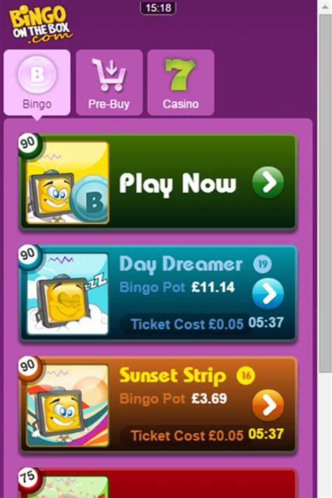 bingo on mobile bingo on the box mobile bonus and promotions