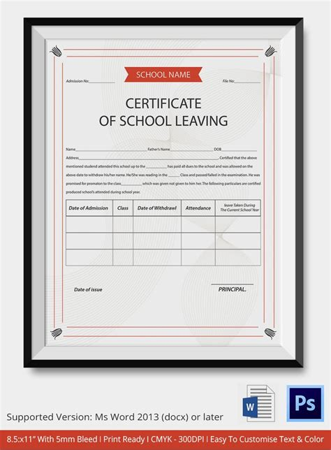 Leaving Certificate Template 17 best ideas about school leaving certificate on
