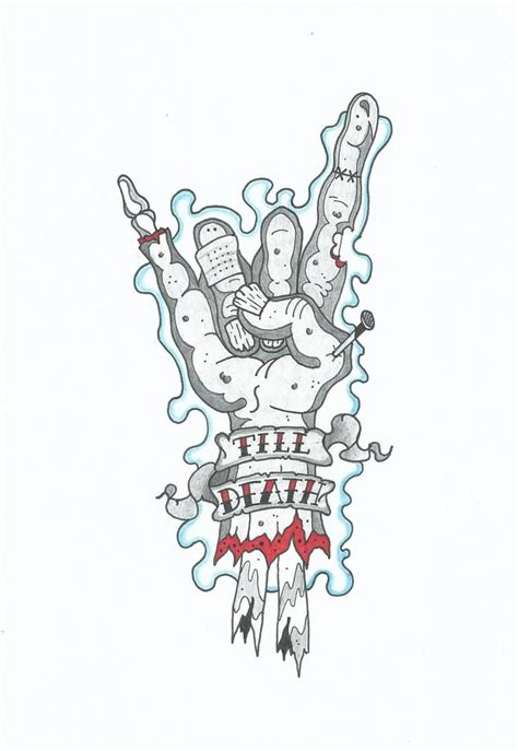 zombie tattoo designs images designs