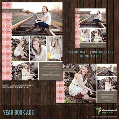 yearbook ad templates senior ad graduation ad high