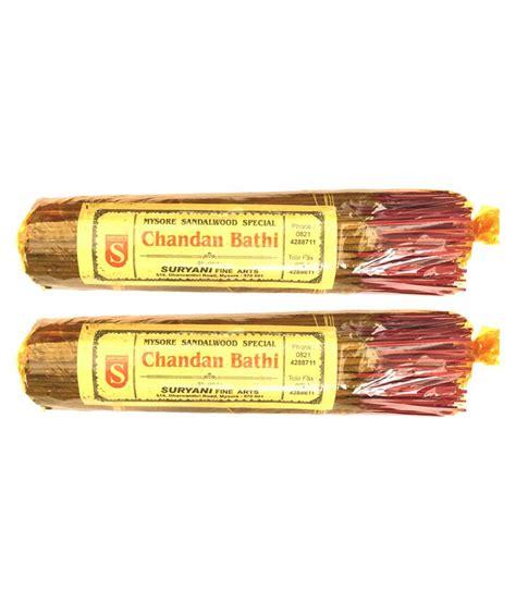 sandal wood pack suryanis sandalwood agarbatti pack of 2 buy