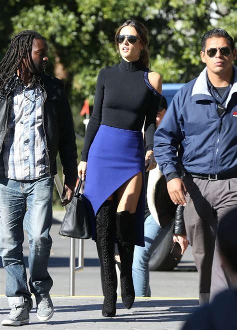 Alessandra Ambrosio Promotes Something Or Another by Alessandra Ambrosio Promotes S Secret Fashion