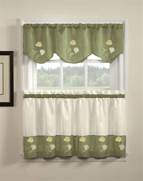 Valance Curtains For Kitchen Contemporary Kitchen Curtains And Valances Modern Contemporary Kitchen Curtains Valances All