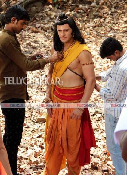 ram karan sharma on the sets siya ke ram tellychakkar
