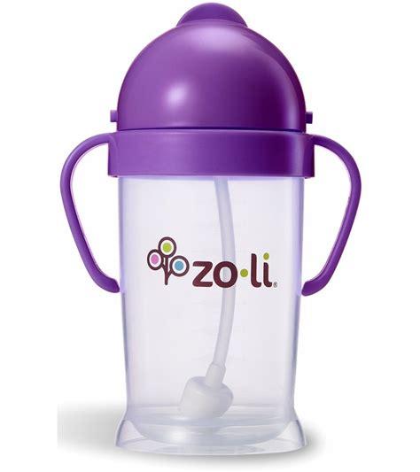 Zoli Bot Straw Sippy Cup 6oz Pink zoli bot xl 9 oz straw sippy cup purple
