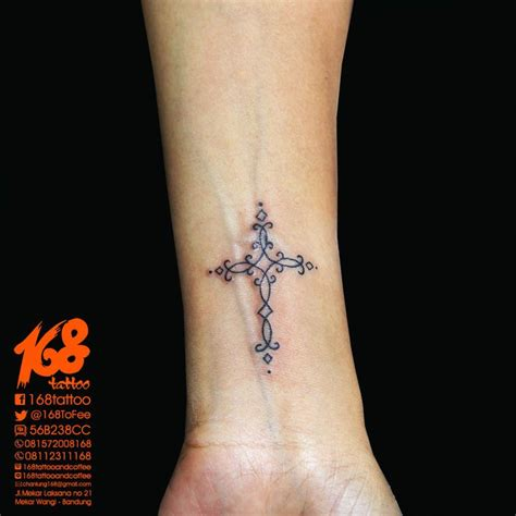 women s cross tattoos cross small on wrist placement my