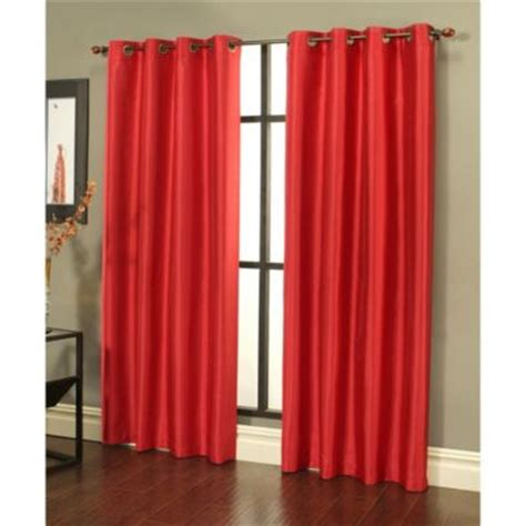 cherry red curtains buy cherry curtains from bed bath beyond