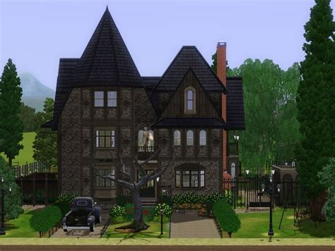 Gothic Victorian Furniture mod the sims hollow house victorian gothic