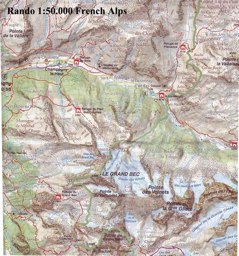 mont blanc 1 50 000 contoured hiking map gps compatible laminated kompass books walking maps and walking guides to buy