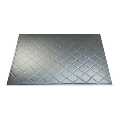 quilted metal backsplash fasade 18 in x 24 in quilted pvc decorative backsplash