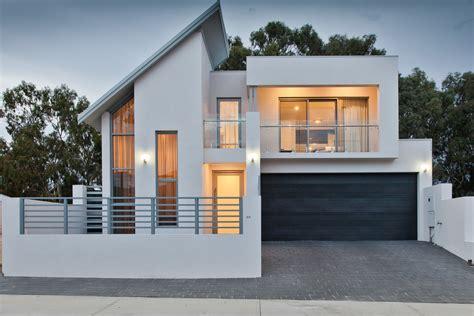 nice contemporary house with attached garage plans exterior designs aprar glass balcony railing exterior contemporary with attached