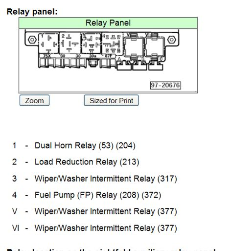 vw beetle power window relay location get free image
