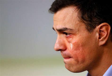 imagenes llorando de hombres pedro s 225 nchez llorando y entre sollozos pregunta a la