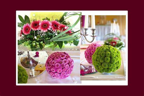 Blumendeko Tisch Hochzeit by Blumendeko Hochzeit
