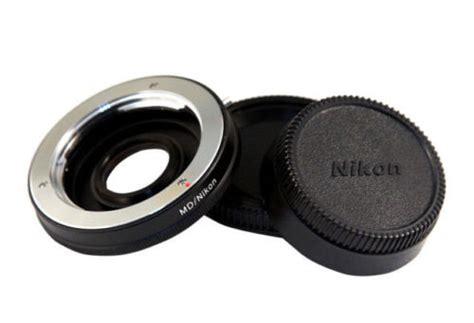 Adapter Minolta Md To Nikon With Glass d3200 md 50mm manual lens digital revolution