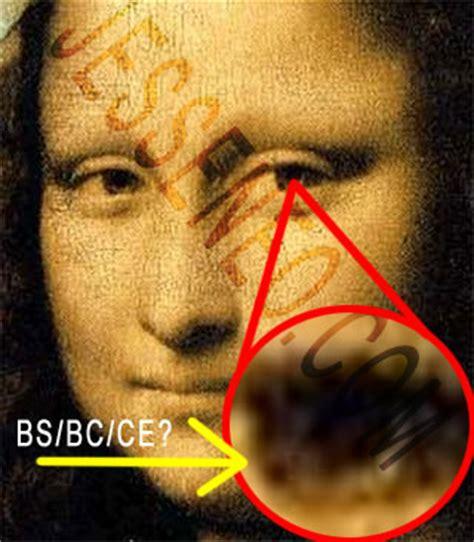leonardo da vinci illuminati do the mona hide a secret with image