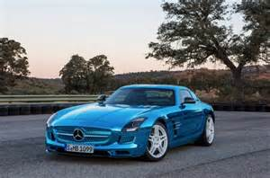 740 horsepower mercedes sls amg electric supercar