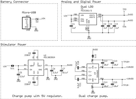 schematic   srds power system top left   micro usb battery  scientific