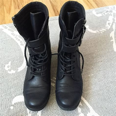 50 justfab shoes justfab combat boots from s