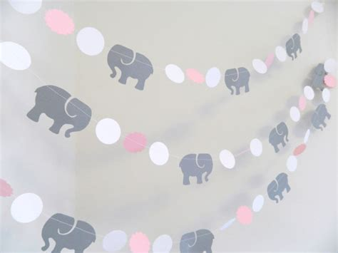 Pink And Grey Elephant Baby Shower Decorations pink gray elephant baby shower decorations gray elephant