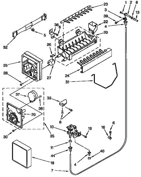 kenmore maker parts diagram kenmore icemaker parts model 4317943 sears partsdirect