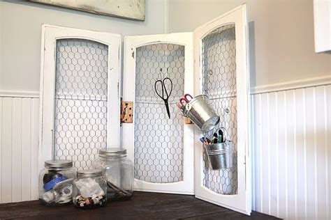 Use Old Cabinet Doors Insert Chicken Wire Could Be Good Used Cabinet Doors