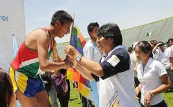 juegos deportivos estudiantiles plurinacionales bolivia clausura primeros juegos deportivos estudiantiles