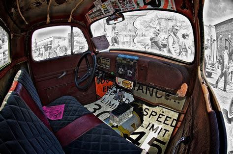 Ratrod Interior by Rat Rod Interior W Signs Cars Motorcycles