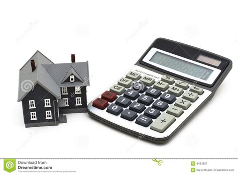 mortgage calculator house mortgage calculator royalty free stock photography image 4494957