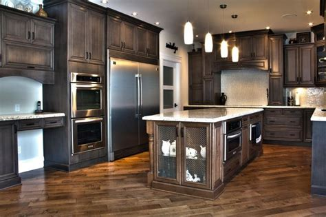 Kitchen Craft Edmonton Weathered Slate Stunner Traditional Kitchen Cabinetry